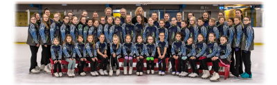 Swindon Ice Figure Club 2020 Group Photo